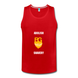 Abolish Shavery Tank - red