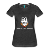 Beards Are A Girl's Best Friend - charcoal gray