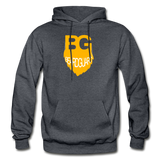 Beard Guard Hoodie - charcoal gray