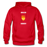 Abolish Shavery Hoodie - red