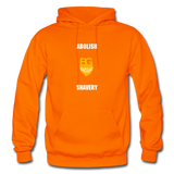 Abolish Shavery Hoodie - orange
