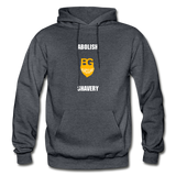 Abolish Shavery Hoodie - charcoal gray