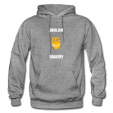 Abolish Shavery Hoodie - graphite heather