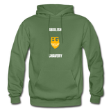Abolish Shavery Hoodie - military green