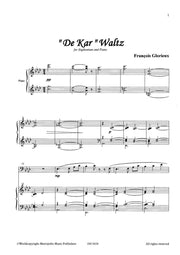 "Glorieux - ""De Kar""Waltz (Euphonium and Piano) - TBP6628EM"