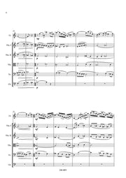 Laporte - Concertpiece for Clarinet and Strings (Full Score and Parts) - COR6893EM