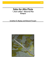 Bayley and Troupin - Solos for Alto Flute - A01