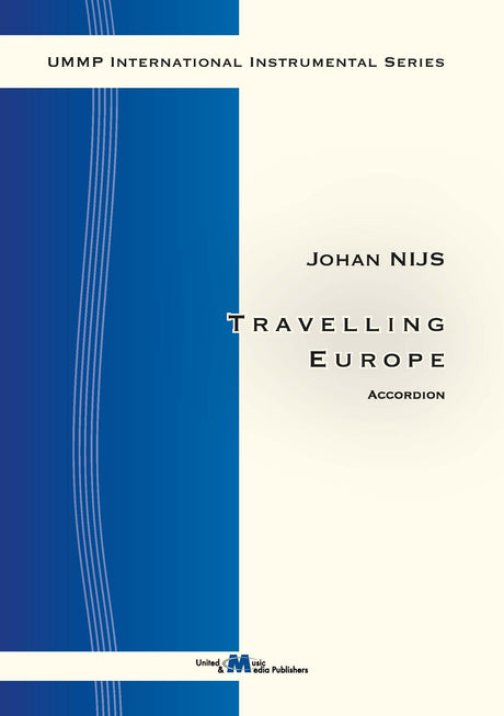 Nijs - Travelling Europe for Accordion Solo - ACC130116UMMP