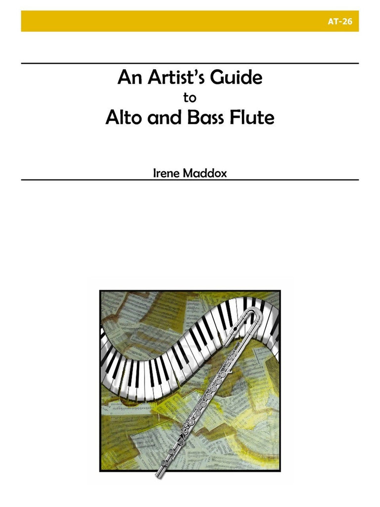 An Artist's Guide to Alto and Bass Flute - AT26