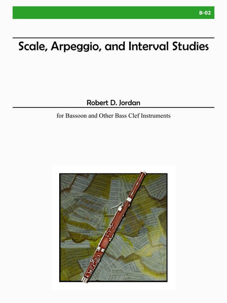 Jordan - Scale, Arpeggio, and Interval Studies - B02