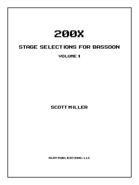 Miller - 200X: Stage Selections for Bassoon, Volume 1 - B03