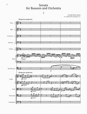 Saint-Saens - Sonata for Bassoon and Orchestra - B101