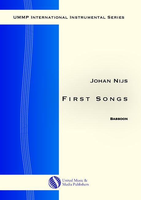 Nijs - First Songs for Bassoon - B200705UMMP