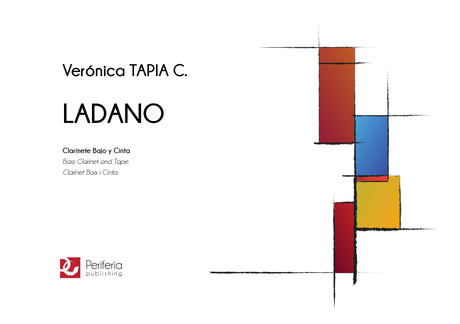 Tapia C. - Ladano for Bass Clarinet and Tape - BC3041PM