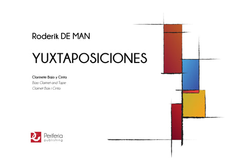 De Man - Yuxtaposiciones for Bass Clarinet and Tape - BC3360PM