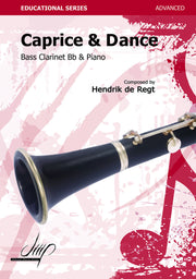 de Regt - Caprice and Dance (Bass Clarinet) - BCP107049DMP