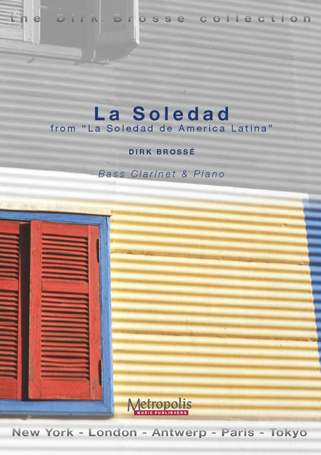 Brosse - La Soledad (Bass Clarinet and Piano) - BCP6191EM