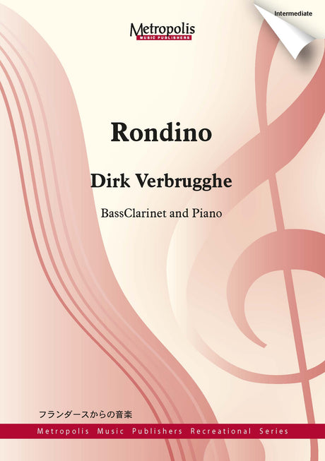 Verbrugghe - Rondino for Bass Clarinet and Piano - BCP6857EM