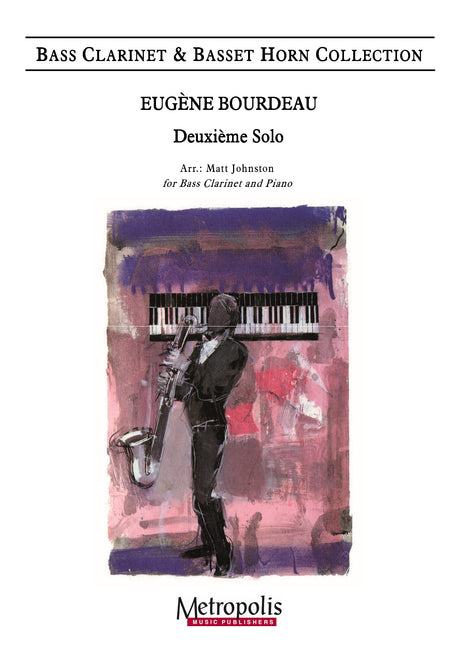 Bourdeau (arr. Johnston) - Deuxieme Solo (Bass Clarinet and Piano) - BCP7330EM