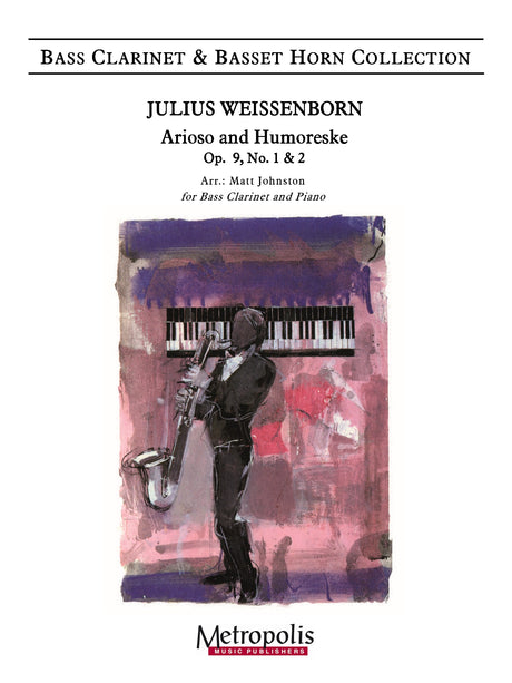 Weissenborn (arr. Johnston) - Arioso and Humoreske (Bass Clarinet and Piano) - BCP7331EM