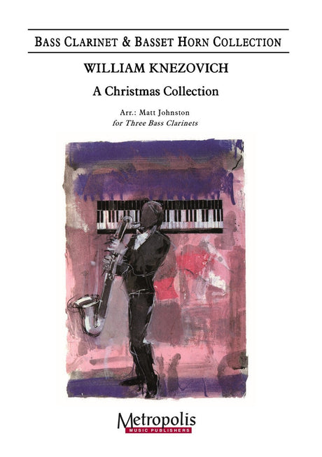 Knezovich (arr. Johnston) - A Christmas Collection (Bass Clarinet Trio) - BCT7150EM