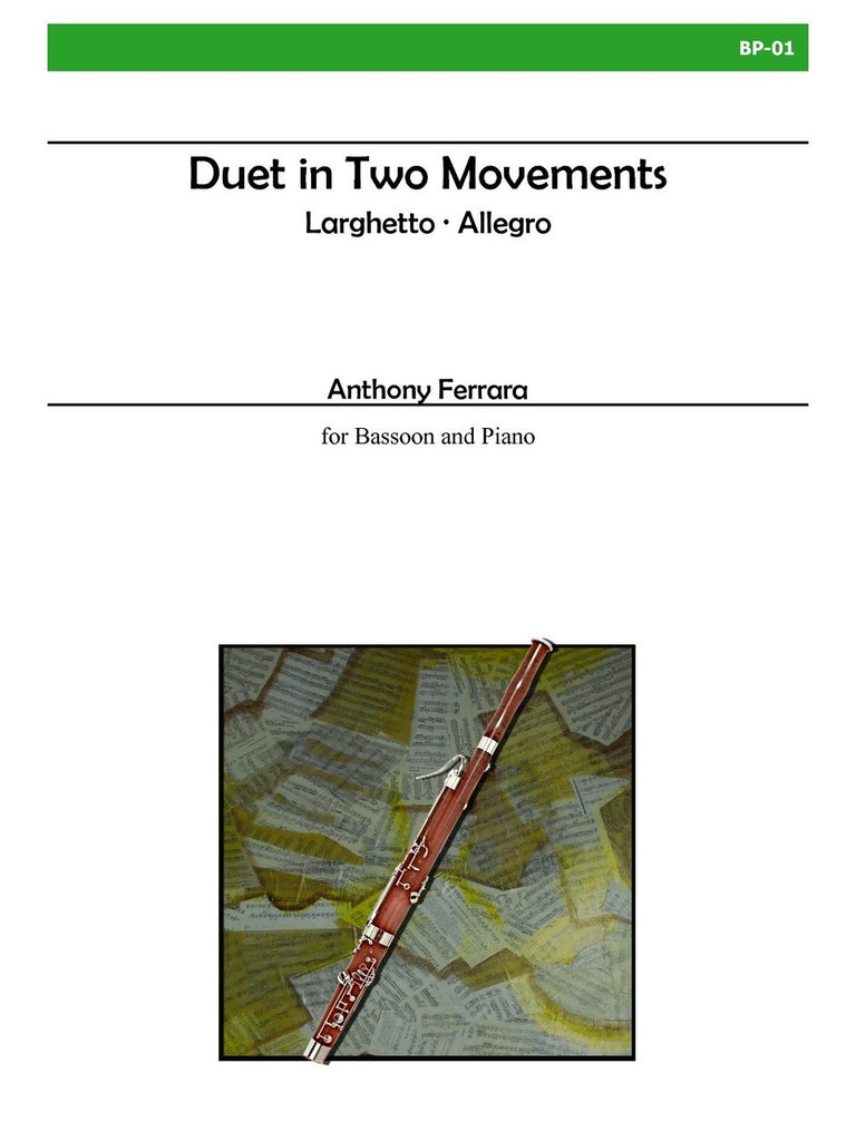 Ferrara - Duet in Two Movements for Bassoon and Piano - BP01