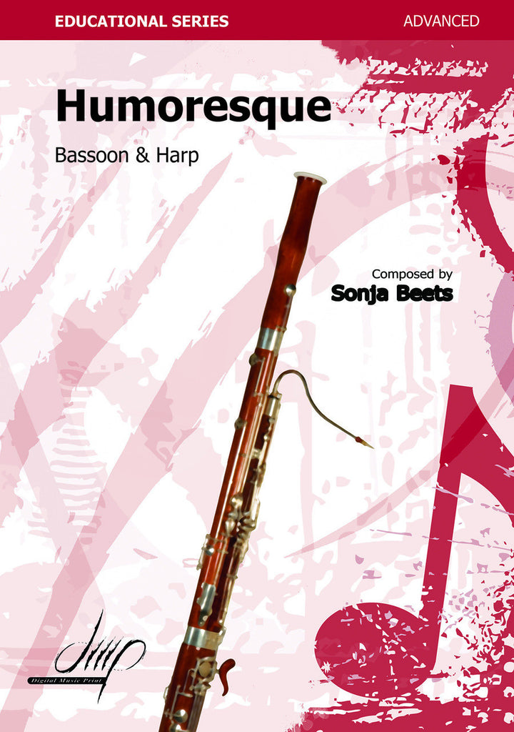Beets - Humoresque for Bassoon and Piano - BP108077DMP