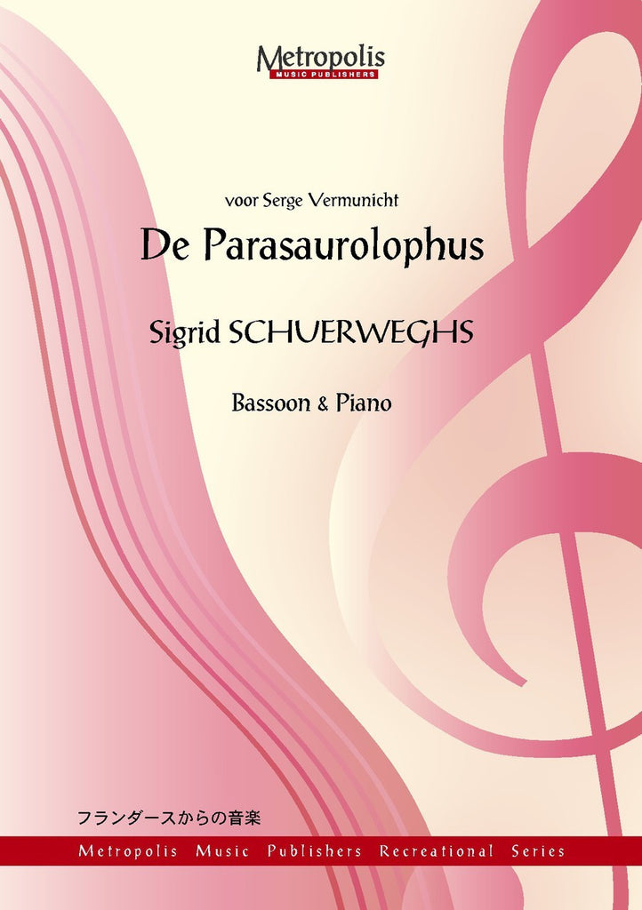 Schuerweghs - De Parasaurolophus for Bassoon and Piano - BP6703EM