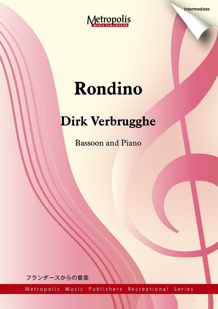 Verbrugghe - Rondino for Bassoon and Piano - BP6856EM