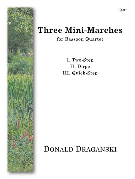 Draganski - Three Mini-Marches (Bassoon Quartet) - BQ07