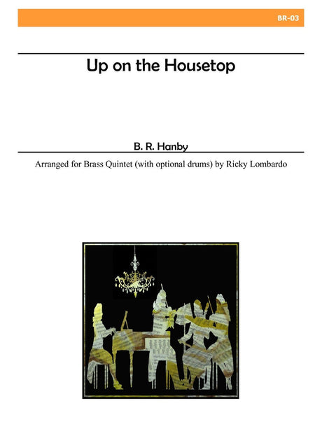 Lombardo - Up on the Housetop (Brass Quintet) - BR03