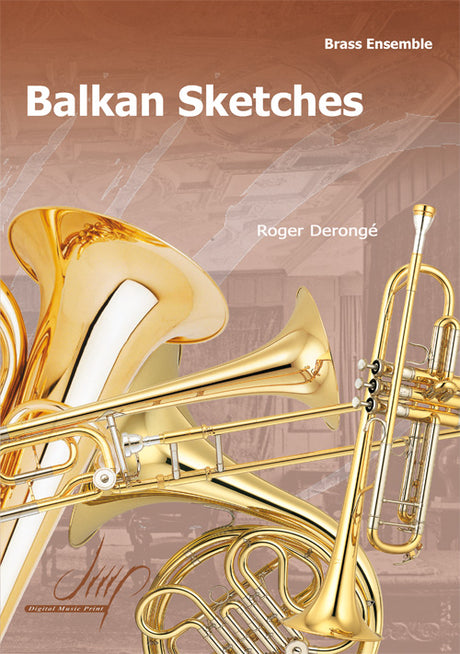 Deronge - Balkan Sketches for Brass Ensemble - BRE118032DMP