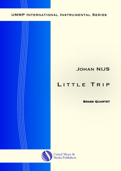 Nijs - Little Trip for Brass Quartet - BRE181001UMMP