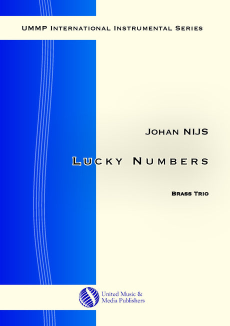 Nijs - Lucky Numbers for Brass Trio - BRE181002UMMP