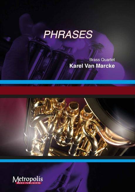 Van Marcke - Phrases for Brass Quartet - BRE7072EM
