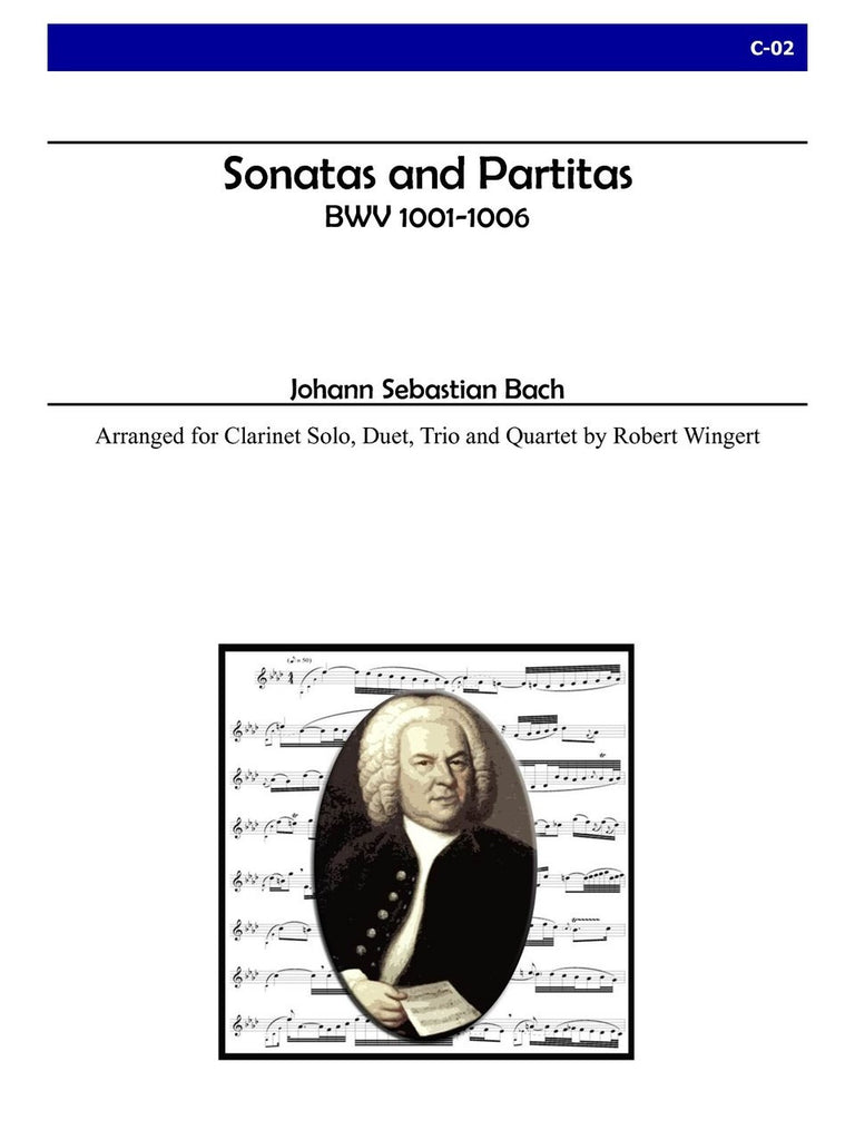 Bach (arr. Wingert) - Sonatas and Partitas, BWV 1001-1006 - C02