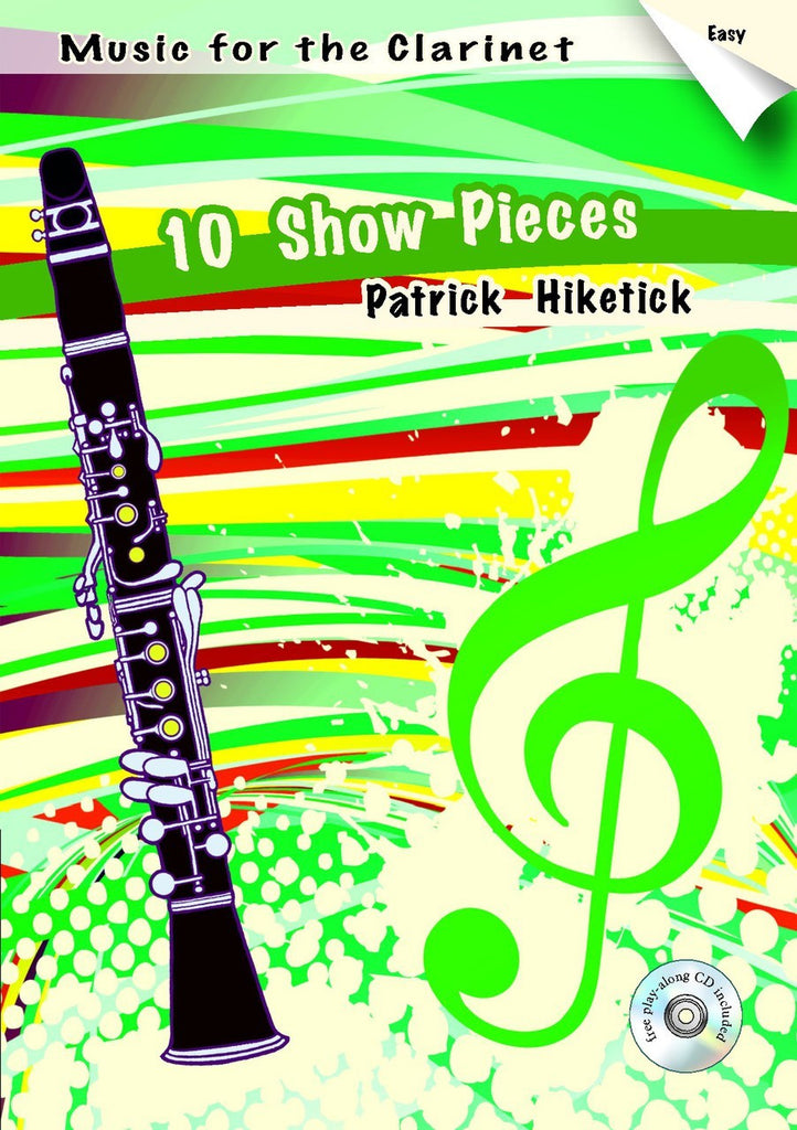 Hiketick - 10 Show Pieces (Book & cd) - C6540EM
