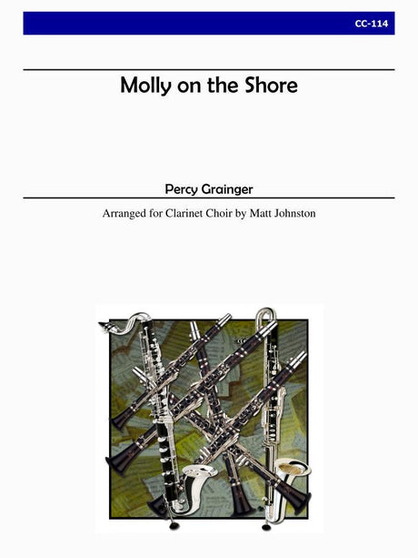Grainger (arr. Johnston) - Molly on the Shore - CC114