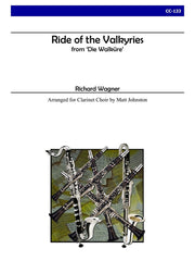 Wagner (arr. Johnston) - Ride of the Valkyries for Clarinet Choir - CC133