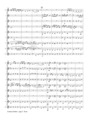 Grainger (arr. Johnston) - Country Gardens for Clarinet Choir - CC177