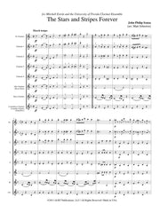 Sousa (arr. Johnston) - The Stars and Stripes Forever for Clarinet Choir - CC128