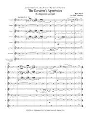 Dukas (arr. Johnston) - The Sorcerer's Apprentice for Clarinet Choir - CC162