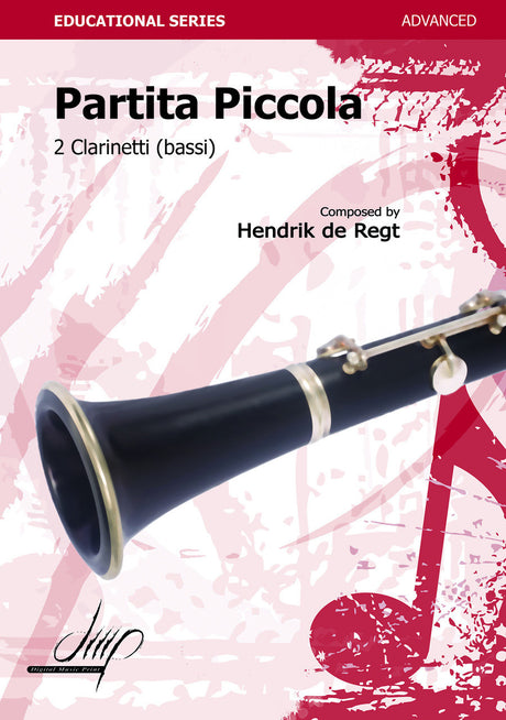de Regt - Partita Piccola (Clarinet Duet) - CD107020DMP