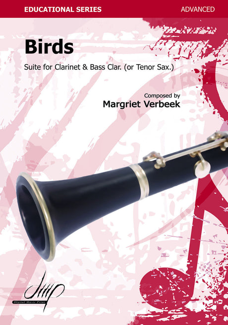 Verbeek - Birds (2 clarinets) - CD114130DMP