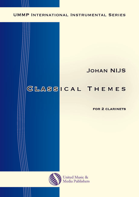Nijs - Classical Themes for 2 Clarinets - CD151203UMMP