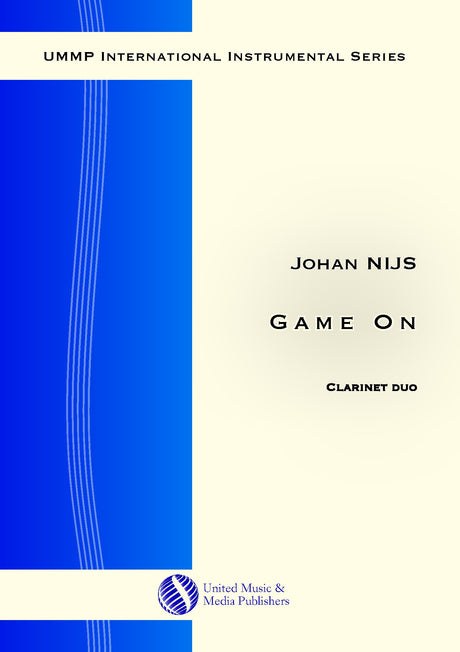 Nijs - Game On for 2 Clarinets - CD171115UMMP