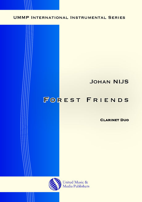 Nijs - Forest Friends for 2 Clarinets - CD181101UMMP