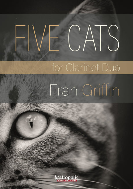 Griffin - Five Cats for Two Clarinets - CD7502EM