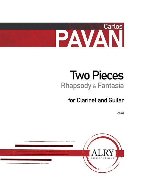 Pavan - Two Pieces for Clarinet and Guitar - CG02