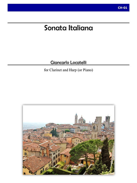 Locatelli - Sonata Italiana for Clarinet and Harp - CH01